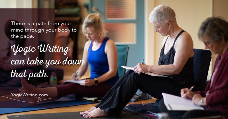 yogicwriting mat to memoir path